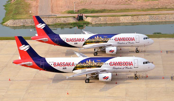 Bassaka Air plane fleet